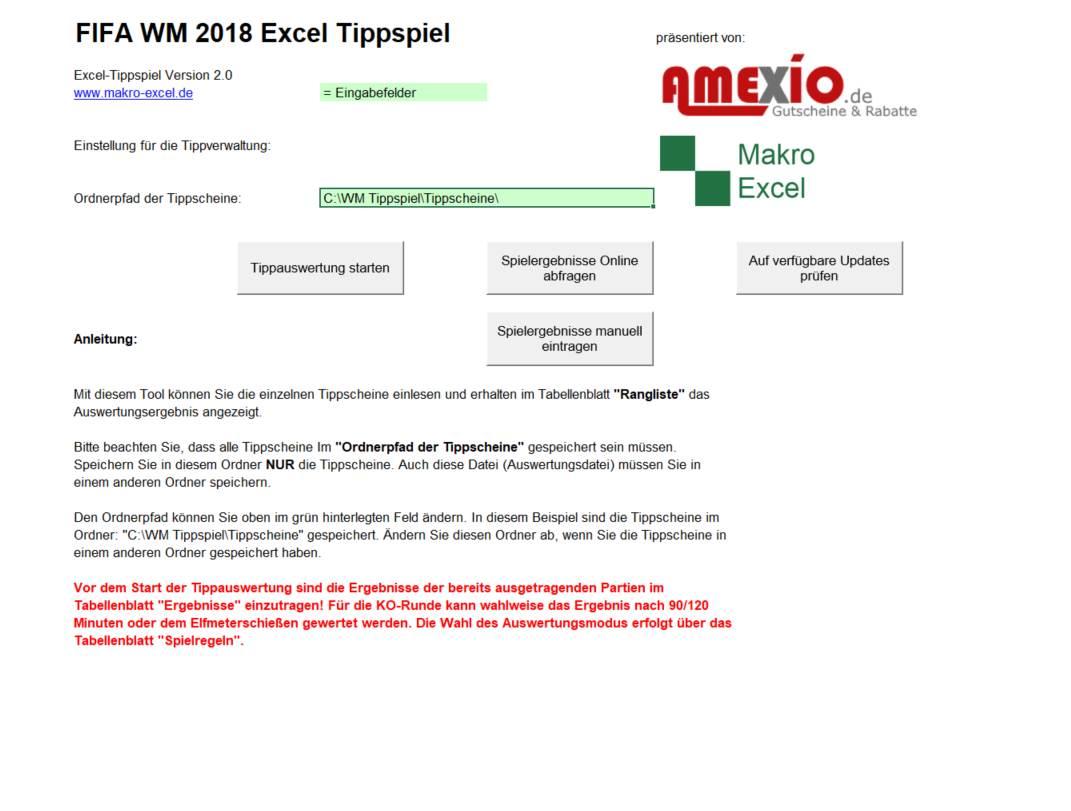 Excel Tippspiel Auswertung